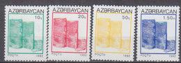 PGL AA0357 - AZERBAIDJAN Yv N°83/86 ** ARCHITECTURE - Azerbaïdjan