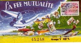 France - 137 - Le Fée Mutualité 1957 - Loterijbiljetten