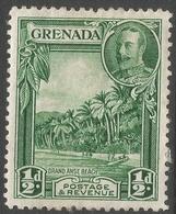 Grenada. 1934-36 KGV. ½d MH. P 12½ SG 135 - Grenada (...-1974)
