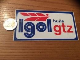 AUTOCOLLANT, Sticker Type 2 «igol Huile Gtz» (oil) - Stickers