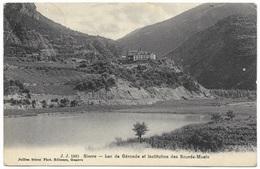 Sierre Lac De Géronde Et Institution Des Sourds-Muets 1908 - Jullien Frères - VS Valais