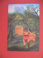 Polynésie Française Carte Artistes Peintres - Johel Blanchard - Polinesia Francese