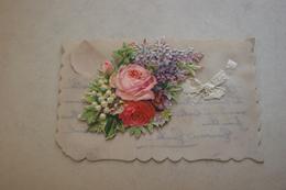 Bouquet - Carte Celluloïd - Fantaisies