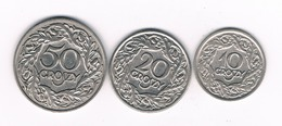 10,20 ,50 GROSZY 1923  POLEN /1402/ - Pologne