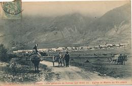 I56 - 05 - CEILLAC - Hautes-Alpes - Vue Générale - Eglise Et Mairie Du VIe Siècle - Andere Gemeenten