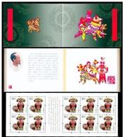 ZODIAC ZODIAQUE TIERKREIS ASTROLOGY ASTROLOGIE Astronomy YEAR OF DOG ANNÉE DE CHIEN JAHR  HUNDES CHINA 2006 BOOKLET 30 - Astrologie