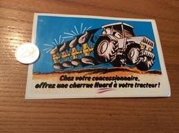 AUTOCOLLANT, Sticker «Chez Votre Concessionnaire, Offrez Une Charrue Huard à Votre Tracteur» - Stickers