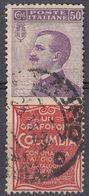 """ITALIA - 1924/25 - Francobollo Pubblicitario """"Columbia"""", Sassone 11, Usato. - 1900-44 Vittorio Emanuele III"""