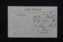 FRANCE - Cachet Du Camp De Prisonniers De Bous Baïeur Sur Carte Postale En 1915 Pour La Garennes Colombes - L 23289 - Marcophilie (Lettres)