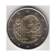 """Moneda 2€ 2018 Eslovaquia """"Aniversario República"""" - Slovaquie"""