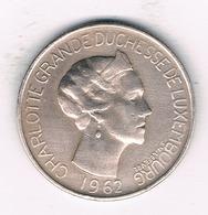 5 FRANC 1962 LUXEMBURG /1405/ - Luxembourg