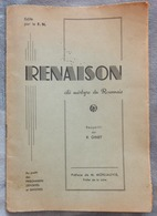 Rare Livret Illustré De Photos Renaison Cité Martyre Du Roannais R Ginet Au Profit Des Prisonniers Sinistrés Roanne WW2 - Livres, BD, Revues
