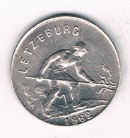 1  FRANC 1962 LUXEMBURG /1406/ - Luxembourg