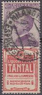 "ITALIA - 1924/25 - Francobollo Pubblicitario ""Tantal"", Sassone 18, Usato. - 1900-44 Vittorio Emanuele III"