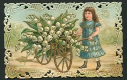11334  Carte 1er Avril -Poisson D'avril  Ajourée - 1er Avril - Poisson D'avril