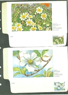 Canada UD2 8 Cent Domestogramme Postage/Poste Flora Flowers Northwest Territories British Columbia Unused MNH 1973 A04s - Canada