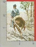 CARTOLINA NV ITALIA - Giovanni Fattori - Cavallo In Corsa Con Carabiniere - Acquarello - 10 X 15 - Pittura & Quadri
