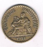 1 FRANC 1924 FRANKRIJK /1409/ - France
