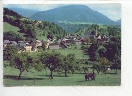 Saint Pierre D'Entremont (isère Et Savoie) Vue Générale (cp N°20517) Paysan Dans Son Champ - Ane - Paysans