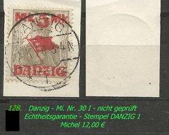 Mi. Nr. 30 I In Gebraucht - DANZIG 1 - Danzig