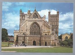 UK.- DEVON. EXETER CATHEDRAL. THE WEST FRONT. - Exeter