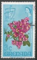 Grenada. 1968-71 Definitives. 3c Used  SG 308 - Grenada (...-1974)