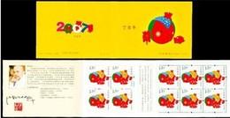 ZODIAC ZODIAQUE TIERKREIS ASTROLOGY ASTROLOGIE Astronomy YEAR OF ANNÉE PIG COCHON JAHR DER SCHWEIN CHINA 2007 BOOKLET 31 - Astrologie