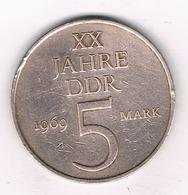 5  MARK 1969  A  DDR DUITSLAND /1414/ - [ 6] 1949-1990 : RDA - Rép. Démo. Allemande