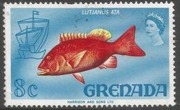 Grenada. 1968-71 Definitives. 8c Used  SG 311 - Grenada (...-1974)