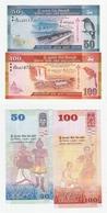 Sri Lanka 50 + 100 Rupees 2016 UNC - Sri Lanka