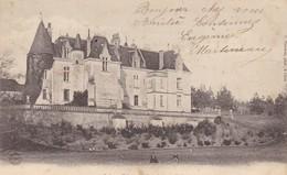 36. CLION.  CPA. CHATEAU DE PREAULX. ANNEE 1905 - France