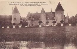 36. VELLES BEAUREGARD.  CPA. LE CHATEAU SUR LA BOUZANNE. ANNEE 1923 - France