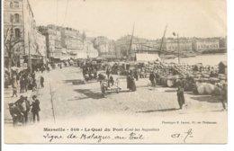L200A_379 - Marseille - 509 Le Quai Du Vieux Port (Côté Des Augustins) - Carte Précurseur - Vecchio Porto (Vieux-Port), Saint Victor, Le Panier