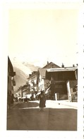 FRANCE  -- ( CHAMONIX ) Rue Nationale ( Photo: Format 12 X 7.5 ) - Lieux