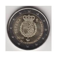 """Moneda 2€ 2018 España """"50 Aniversario Del Rey"""" - Espagne"""