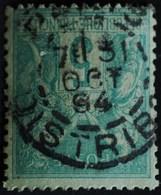 Sage N°75 Type Il O.(CAD) PARIS  DISTRIBITION 31 Oct 1894. - 1876-1898 Sage (Type II)