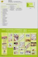 Montimbramoi La Poste Ma Collection De Timbres 2010  Sur Calendrier Programme Philatélique 2eme Semestre 2010 Format A5 - Frankreich