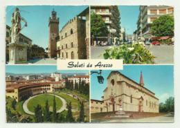 SALUTI DA AREZZO   VIAGGIATA FG - Arezzo