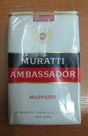 AC - MURATTI AMBASSADOR CIGARETTES UNOPENED BOX FOR COLLECTION - Cigarettes - Accessoires