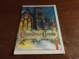 SPARTITO MUSICALE PUBBLICITARIO CHRISTMAS CAROLS  OF BOSTON COMPANY - Spartiti