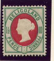 HELIGOLAND - 13* - VICTORIA - Heligoland (1867-1890)