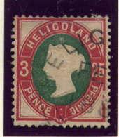 HELIGOLAND - 14° - VICTORIA - Heligoland (1867-1890)