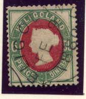 HELIGOLAND - 15° - VICTORIA - Heligoland (1867-1890)