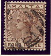 MALTE - 9° - VICTORIA - Malte (...-1964)