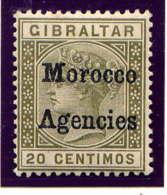 MAROC Bx ANGLAIS - 3* - VICTORIA - Bureaux Au Maroc / Tanger (...-1958)