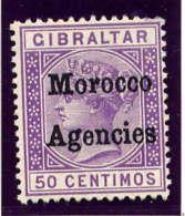 MAROC Bx ANGLAIS - 6(*) - VICTORIA - Bureaux Au Maroc / Tanger (...-1958)