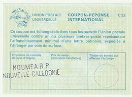 NOUVELLE-CALEDONIE COUPON REPONSE NEUF NOUMEA - Nueva Caledonia