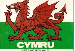 CYMRU GREETINGS FROM WALES (INGHILTERRA) - Gibilterra