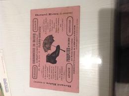 Buvard Ancien CORDONNERIE DU BREUCQ G DELEPLANQUE DAVROULT FLERS BREUCQ NORD PARAPLUIE CHAUSSURES - Buvards, Protège-cahiers Illustrés