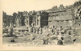 Pays  Div.-ref R546- Syrie - Syria - Baalbek  - Carte Bon Etat - Postcard In Good Condition  - - Syrie